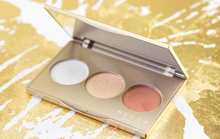 Becca Champagne Glow Palette Holiday 2015 Jaclyn Hill