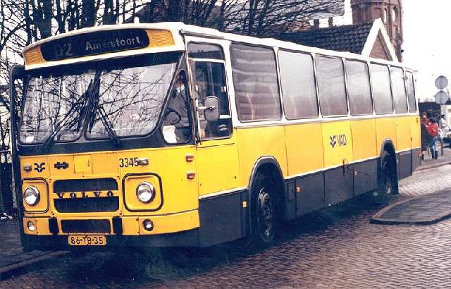 old bus Netherlands 70's