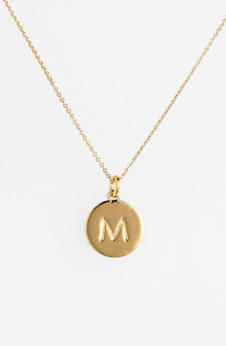 Letting them know they're one in a million with this stunning kate spade new york initial pendant necklace. It's such a great gift!