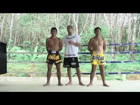 Beginners Muay Thai Instructional: The Muay Thai back leg knee strike @ Tiger Muay Thai
