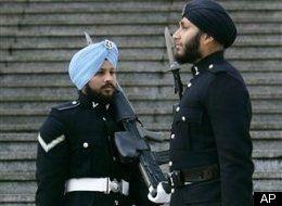 Sikhs permitted to wear turban in  Royal British Gaurd