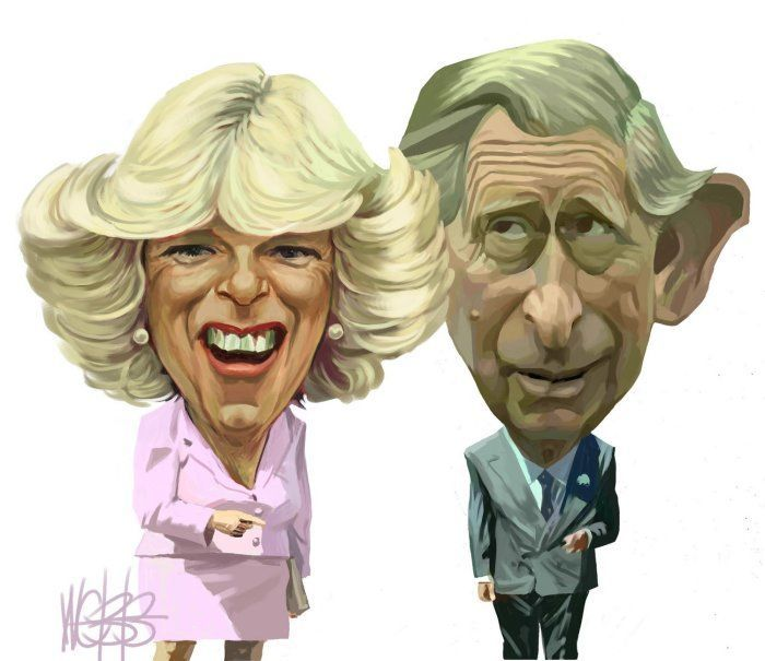 Camilla and Prince Charles by Digitised Image
