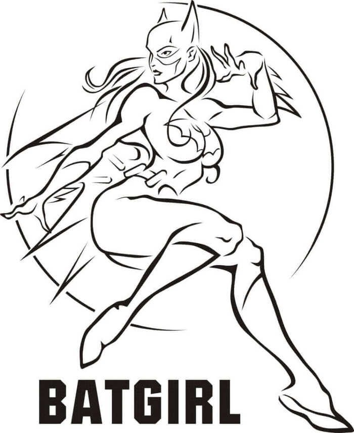 Printable Coloring Pages For Girls Batman Coloring Pages Coloring Pages For Girls Superhero Coloring