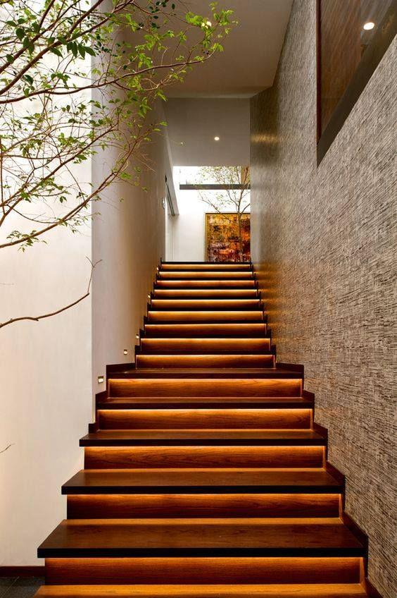 14 diseños de escaleras para interiores. ¡Son muy elegantes y modernas! - Un millón de IDEAS.