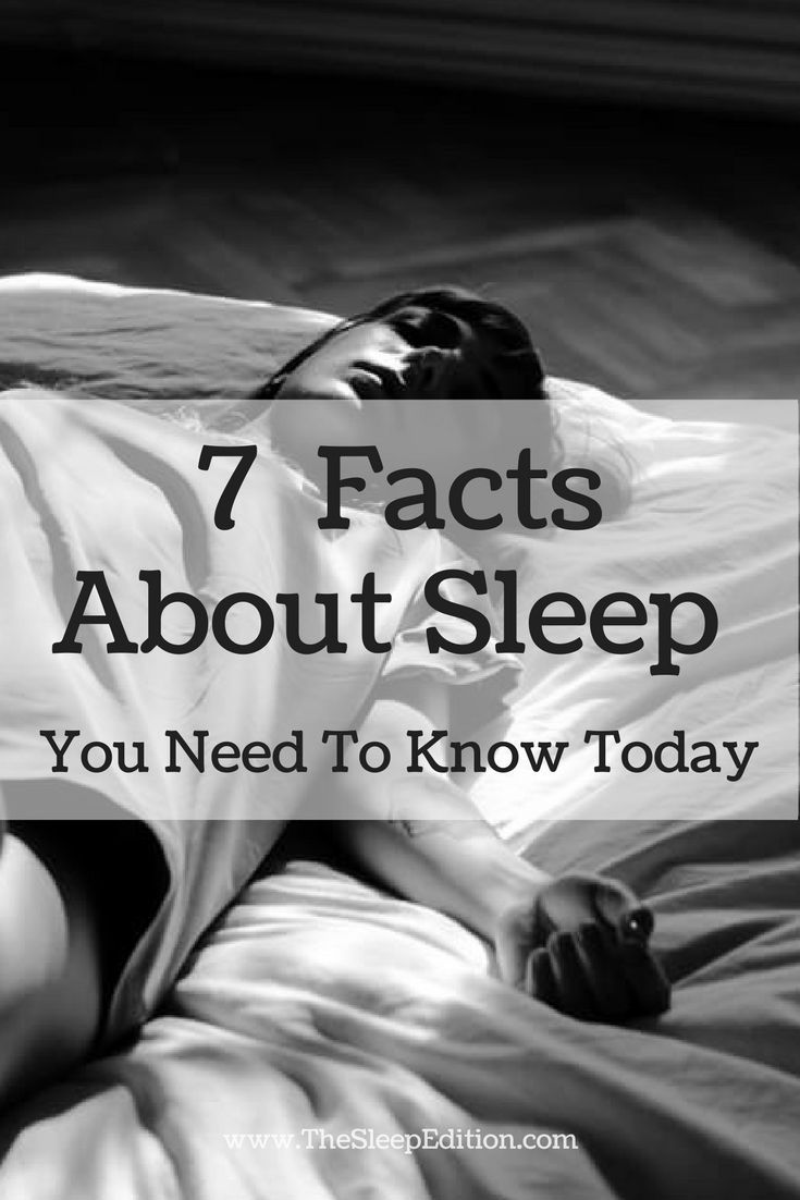 7 Things About Sleep You Need To Know Today. Are you sacrificing your sleep to get ahead?