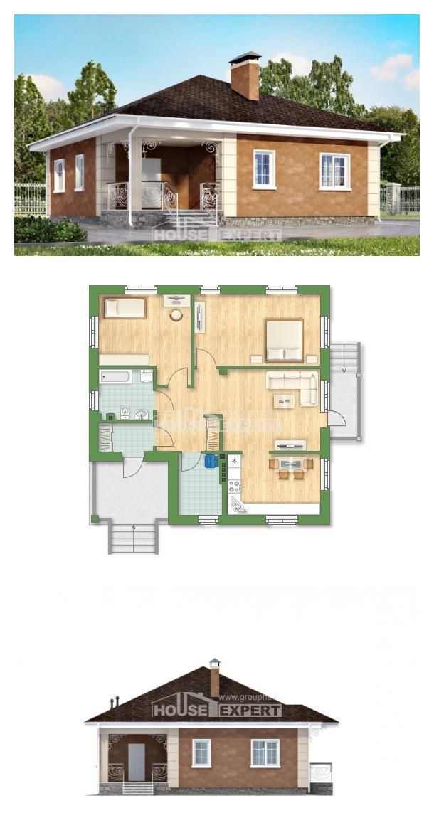 Ev villa projesi 100 001 L House Expert