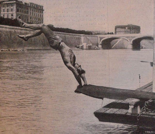 Le gare di nuoto nel Tevere 1901 | by bellaebrutta