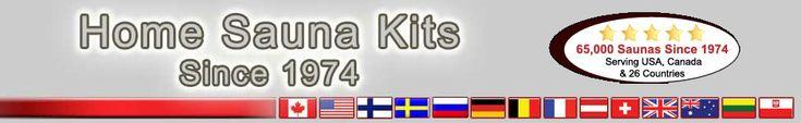 SAUNA KITS $1599 up - Home Sauna Kit - 174 Sizes