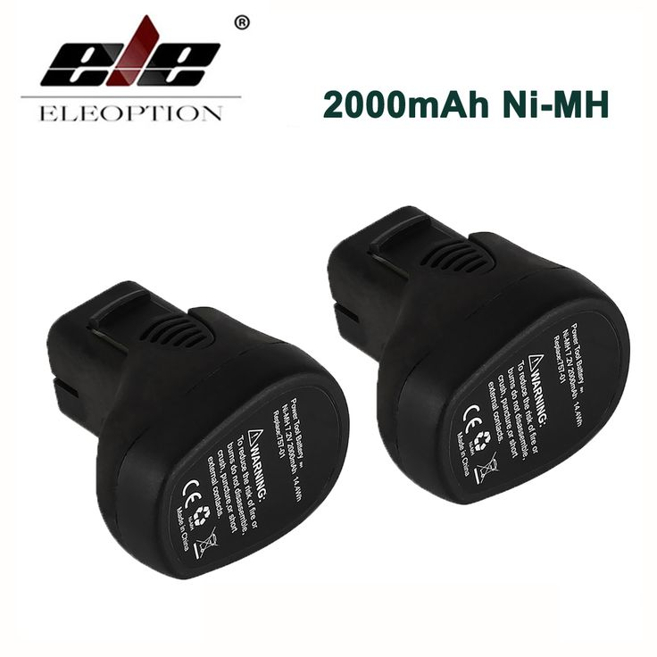 Promo 2x 7.2V 2000mAh Ni-MH Replacement Battery for Dremel MultiPro Cordless Rotary Tool Models For Dremel 7700-01 7700-02 757-01 #7.2V #2000mAh #Ni-MH #Replacement #Battery #Dremel #MultiPro #Cordless #Rotary #Tool #Models #7700-01 #7700-02 #757-01