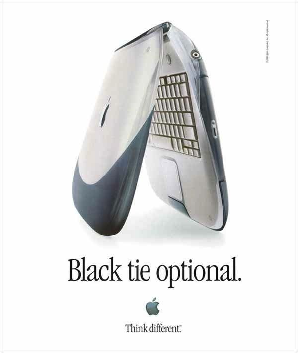 Remember these? My first laptop = iBook