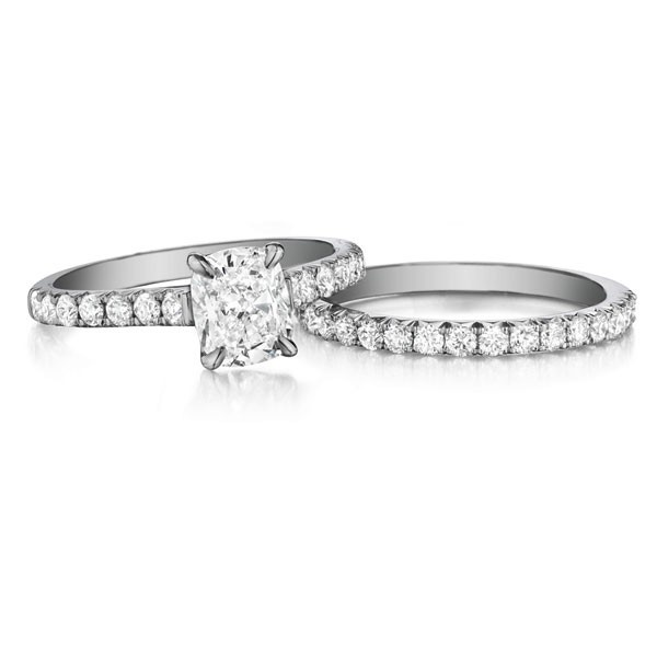 17 Best images about Henri Daussi Diamond Wedding Rings on Pinterest