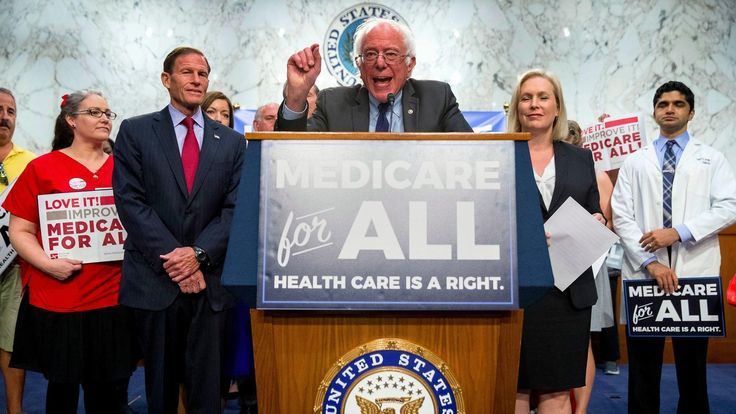 """A libertarian supporting a """"self-described democratic socialist"""" ideas for healthcare tells you how broken our medical health insurance system is for the average American."""