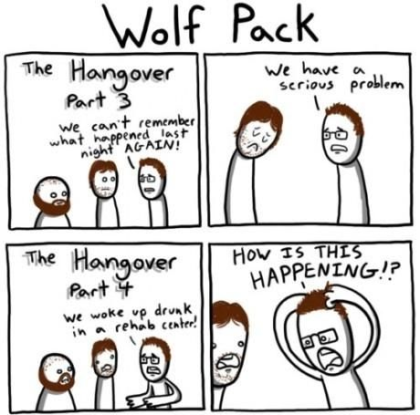The Hangover - funny pictures - funny photos - funny images - funny pics - funny quotes - #lol #humor #funny