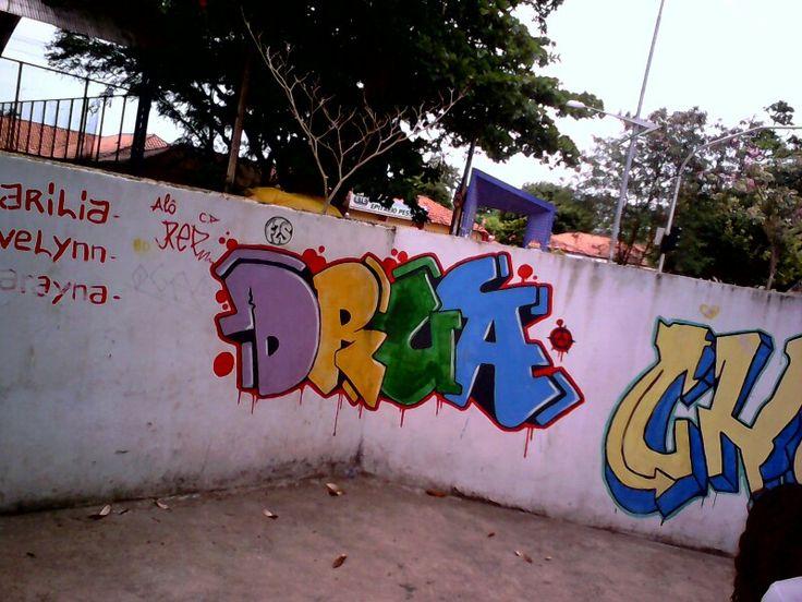 Em 2014 escola Marivaldo buregio