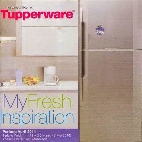 Promo Tupperware April 2014 - My Fresh Inspiration