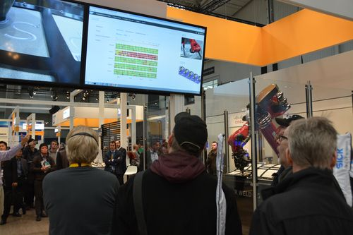 At Hanover Messe, Grenzebach in cooperation with SAP presented the cloud based analysis for the friction stir welding process.