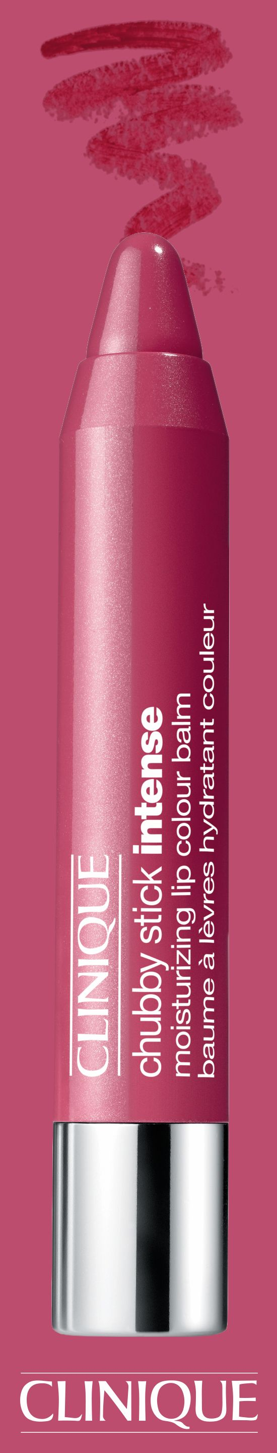Part pink, part red, Chubby Stick Intense in Roomiest Rose is sure to stand out.