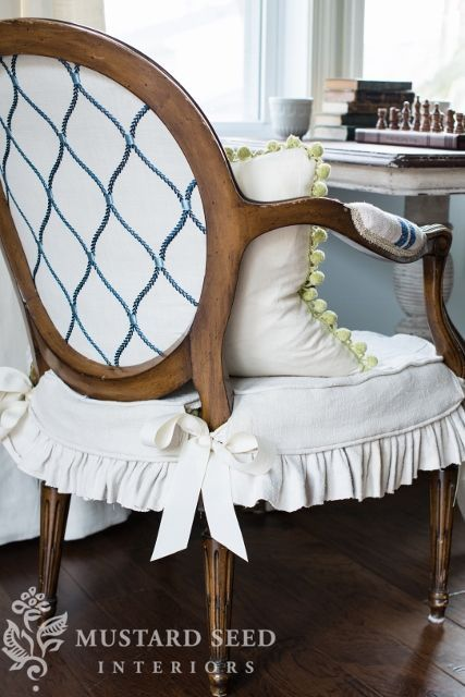 slipcover tutorial | miss mustard seed