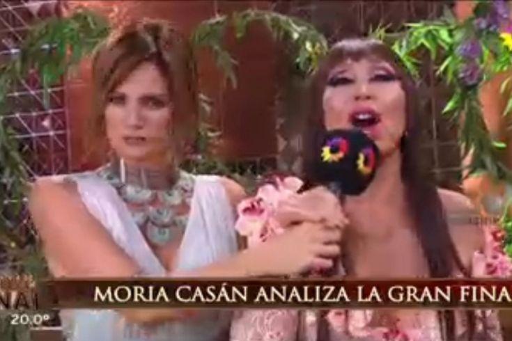 Moria Casán le predijo lo peor a Paula Chaves y mirá cuál fue su reacción