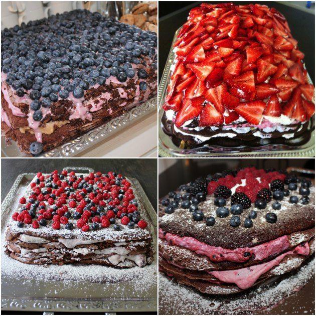 """Hvis du har været forbi min blog før, så er du nok stødt på den kage jeg kalder for""""Verdens bedste kage""""–som du kan se, har vi lavet den et par gange efterhånden. Her har jeg …"""