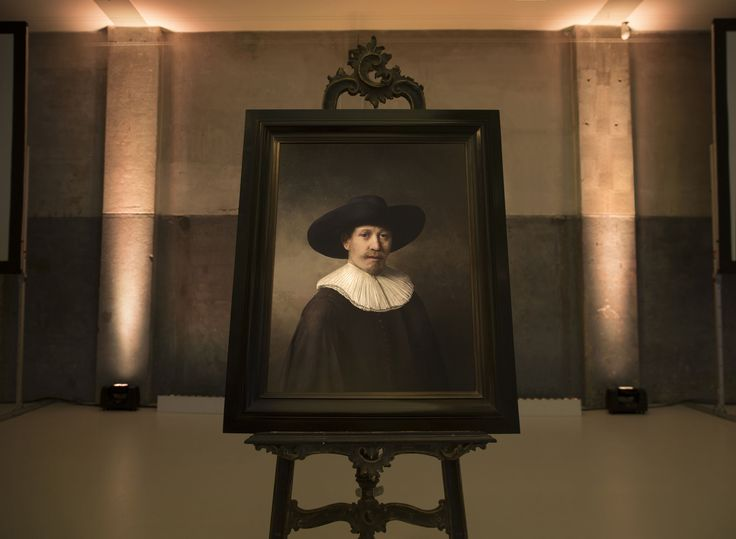 The Next Rembrandt | 3D Printing New Rembrandt Painting Showcase Website | Award-winning Websites | D&AD
