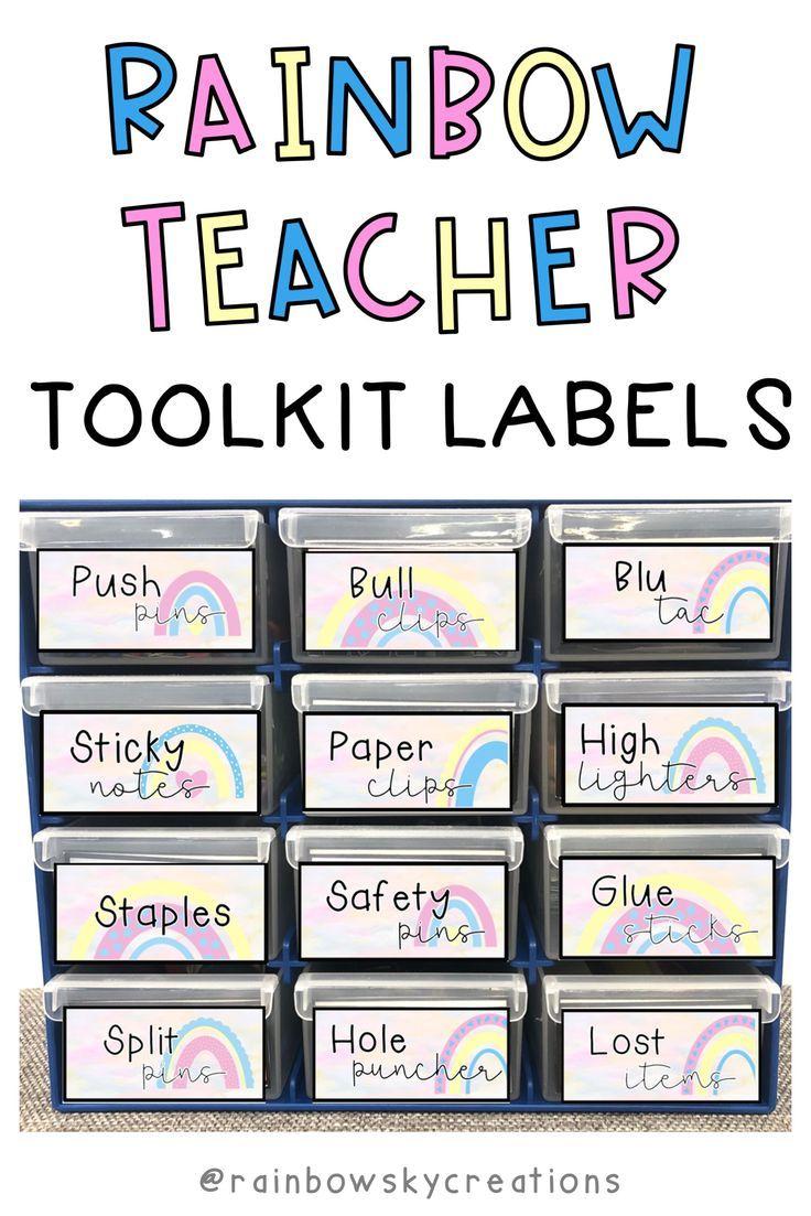Bunnings Teacher Toolkit Labels Editable In 2020 Teacher Toolkit Teacher Toolbox Labels Teachers Curriculum