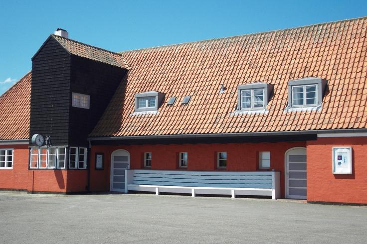Kai Fiskers station i Gudhjem. Museum idag.