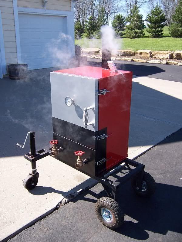 Bbq Engineer Vertical Reverse Flow Gear Smokers