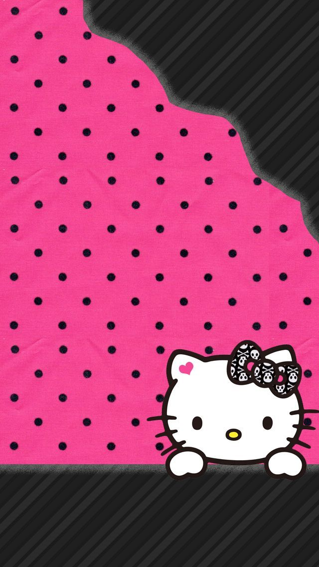 Imagen De Wallpaper Cute And Hello Kitty