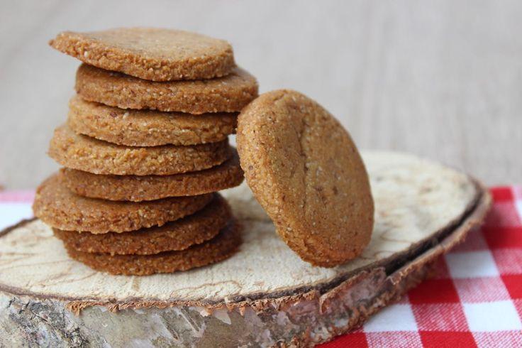 Recept voor suikervrije notenkoekjes - glutenvrij - Paleo - voedselzandloper - eethetbeter - kids - makkelijk - zandkoekjes