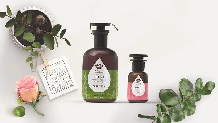 Elixir Shop - Essential Blends Branding on Behance
