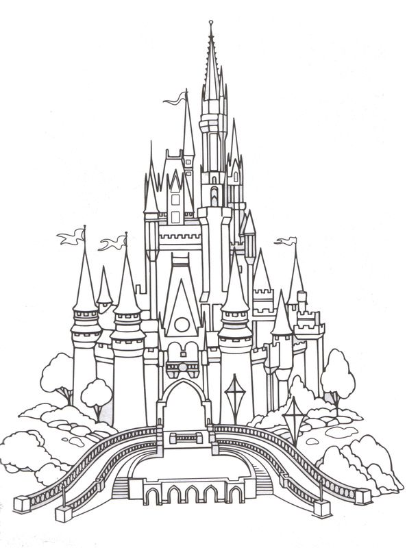Disney Coloring Pages - Cinderella 9 | Printables for Scrapbooking ...