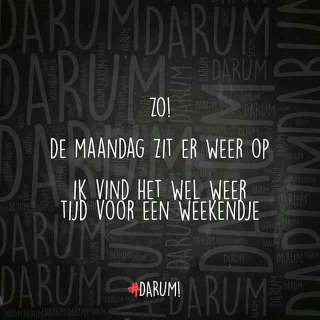 #maandag #spreuken