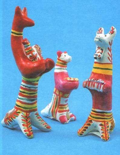 филимоновская игрушка -filimonovo toy