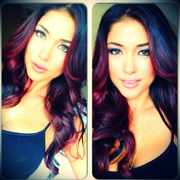 arianny celeste how i 39 m doing my hair this saturday hair pinterest hair coloring. Black Bedroom Furniture Sets. Home Design Ideas