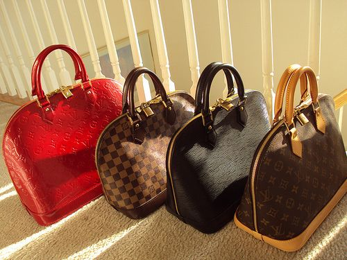 Louis Vuitton! I need the red one!!