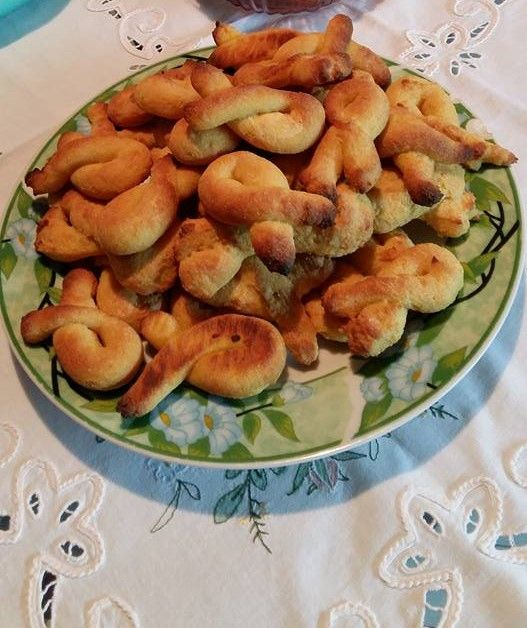 Kουλουράκια από σιμιγδάλι (1 μονάδα)