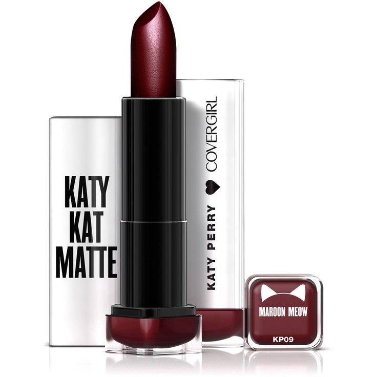 COVERGIRL Katy Kat Matte Lipstick Maroon Meow, .12 oz created by Katy Perry