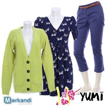 Vendita all'ingrosso di abbigliamento da donna marchio YUMI  #88854 | Stock abbigliamento | merkandi.it