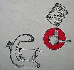 Very Old Milan Atomic instructuion manual (sorrentinacoffee) Tags: milan history simon coffee modern austria design britain machine espresso maker atomic stern midcentury patent imre sasson sorrentina robbiati sorrentinacoffee desider wwwsorrentincoffeecom
