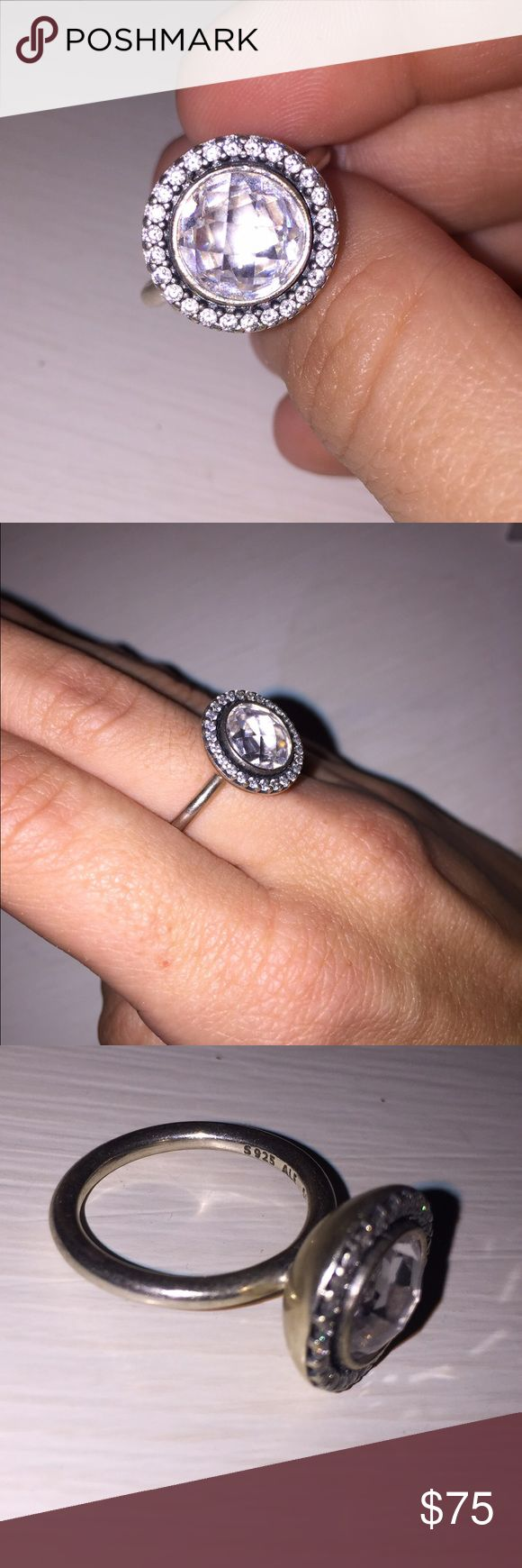 Pandora Brilliant Legacy ring - size 4.5 Excellent condition, bought for $115 from Pandora, never wear it anymore, size 4.5 Pandora Jewelry Rings