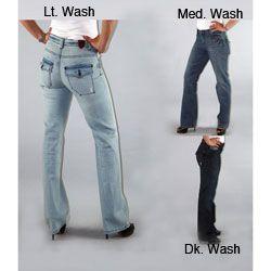 Institute Liberal Women's Bootcut Jeans sneezy happy doc bashful