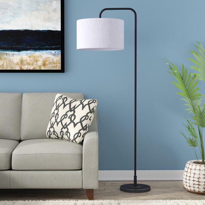 Dale 63 75 Quot Arched Floor Lamp In 2019 Arc Floor Lamps