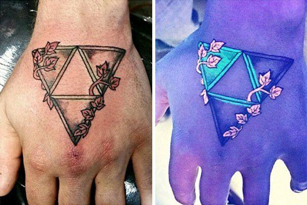 Картинки по запросу татуировки светящиеся в темноте