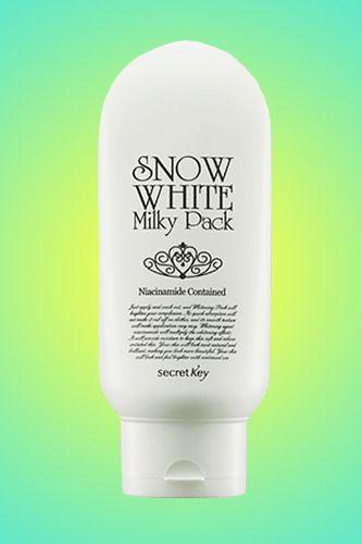 The Best Beauty Wonders From Korea Snow White Milky Pack