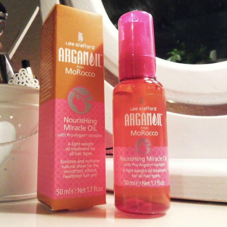 Malinqa radzi jakie kosmetyki warto kupić : LEE STAFFORD argan oil nourishing miracle oil