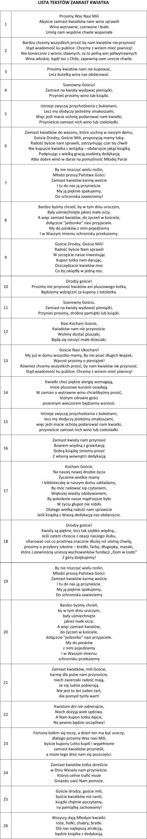 Zaproszenia ślubne WIANKI zaproszenie na ślub (6052199165) - Allegro.pl - Więcej…