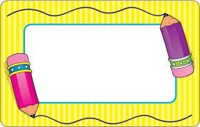Resultado de imagen para gafetes para niños                                                                                                                                                     Más