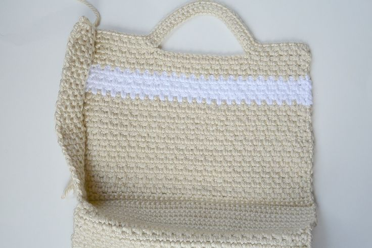Large Crochet Purse