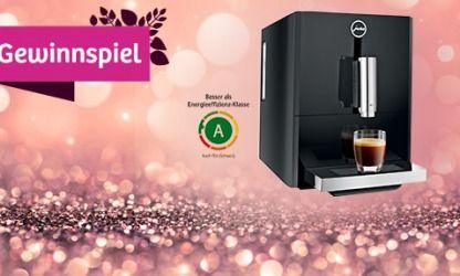 Gewinnspiel: Gewinne einen Espresso-/Kaffee-Vollautomaten